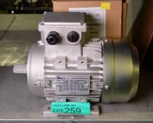 Mecaline 801-4 Three phase Asynchronous Motor - MECA 0.55K4P80B34IE1A