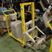Powell Hydraulic Drum Lifters Swl - 65Kg - L700 x W600 x H1300mm