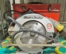Black and Decker Circular Saw In Steel Case