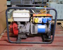 Honda GX340 Generator 120-240 KW Single Trace, KVA S1 - Belle minigen 2000