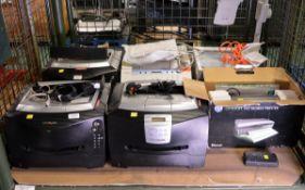 Lexmark E232 Office Printer, Lexmark E340 Office Printer, Canon FAX-220 Fax Machine + Acce