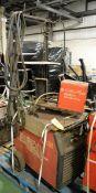 Murex Transtig 353 Welder Unit - L1020 x W600 x H1870mm