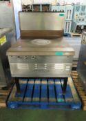 Moorwood Vulcan Flat Plate Stove Top L 1190mm x W 1000mm x H 1470mm