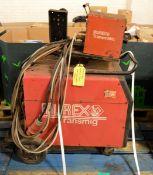 Murex Transmig 403S Welding Unit - L1000 x W630 x H1200mm, Murex Transmatic Lynx 4HD wire