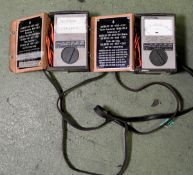 2x Megger BM8 Mk2 Insulation Testers (1 with screen cracked)