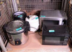 Buffalo Microwave, Panasonic Microwave, Soup Heater & Steamer