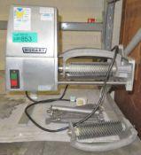 Hobart 403 Steakmaster Tenderizer Machine 240v - 2 extra tenderiser rolls, 3 guards