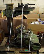 Meddings Ibarmia A-40 Pillar Drill - L1600 x W700 x H2500mm - disassembled