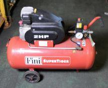 Fini Supertiger 2HP 50ltr Air Compressor 240v 1.50Kw