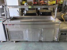 Cold Food Display Counter - L1900 x W800 x H1400mm