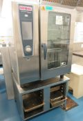 Rational SCC WE 101 Commercial Oven. 400v 3 Phase, Includes Stand.