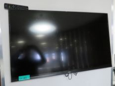 "NEC E464 46"" TV. Please Note There Is No Stand And The Wall Mount Is Not Included."