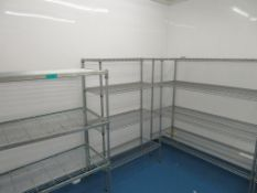 4x Various Size Kitchen Racking.