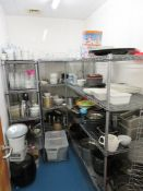 Contents Of A Kitchen Storage Room. Please See Pictures.