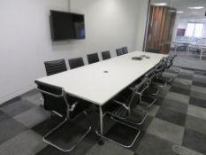 Contents Of A Meeting Room. See Description.