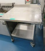 Moffat Stainless Steel Prep Table.