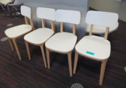 4x Canteen Chairs.