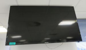 "Samsung ED55D 55"" TV. Please Note There Is No Stand And The Wall Mount Is Not Included."