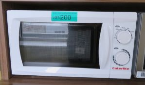 Caterlite CN180 700W Microwave.