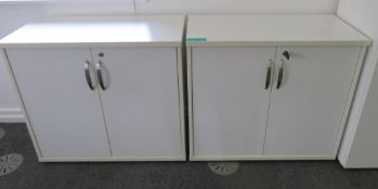 2x Office Storage Cupboard.