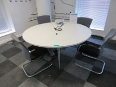 Conference Table & 4 Chairs.1600mm