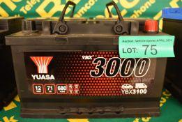 Yuasa YBX3100 Battery