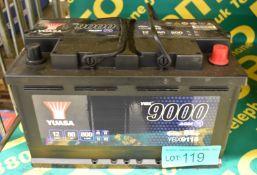 Yuasa YBX9115 12v 80Ah 800A Battery