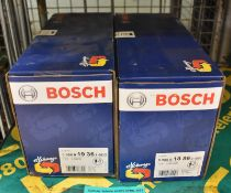 2x Bosch Starter Motors - please see pictures for examples of make and model numbers
