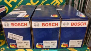 3x Bosch Starter Motors - please see pictures for examples of make and model numbers