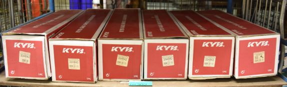 6x KYB Gas Shock Absorbers - please see pictures for examples of make and model numbers
