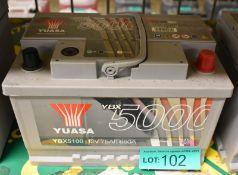 Yuasa YBX5100 12v 75Ah 680A Battery