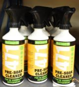 12x BioClean 471 Pre-soak Cleaner for Hi Visibility Outerwear - 400ml spray bottles