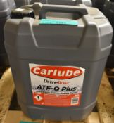 Carlube Driveline ATF-Q Plus Automatic Transmission Fluid - 20L