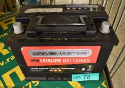 Drivemaster 677 Leisure Battery