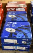 4x Pagid & 2x Eicher Brake Disc Sets - please see pictures for examples of make and models