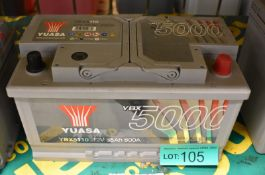 Yuasa YBX5110 12v 85Ah 800A Battery