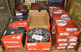 Various Brake Disc Sets - Eicher, Don - please see pictures for examples of make and model