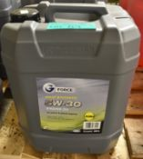 G Force Fully Synthetic 5W-30 Motor Oil - A3/B4 - 20L
