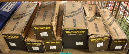 7x Monroe Shock Absorbers - please see pictures for examples of make and model numbers
