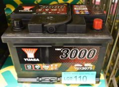 Yuasa YBX3075 12v 60Ah 550A Battery