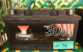 Yuasa YBX3110 Battery