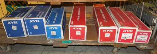 7x KYB Shock Absorbers - please see pictures for examples of make and model numbers