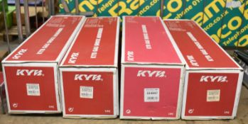 4x KYB Gas Shock Absorbers - please see pictures for examples of make and model numbers