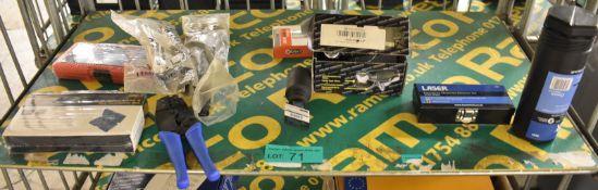 Laser Engine Timing Tool Kit, Emergency Wheel Nut Remover set, 32mm Socket, Power Bank and more