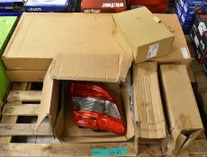 Various Vehicle Spares - Electric Wing Mirror, Rear Lamp Unit, Oil Sumps & Lamp Display Unit