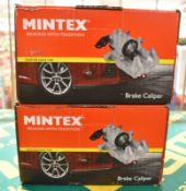 Mintex 133 73 578M & 133 73 579M Brake Calipers - please see pictures for examples of makes