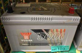 Yuasa YBX5335 12v 95Ah 830A Battery