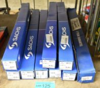 8x Sachs & 1x GBA Premier Shock Absorbers - please see pictures for examples of make and model nos.