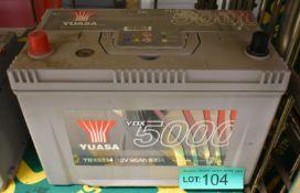 Yuasa YBX5334 12v 95Ah 830A Battery