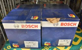 2x Bosch Alternators - please see pictures for examples of make and model numbers